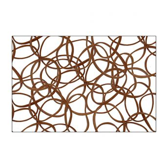 Brown Extra Thick Rubber Bands (100)