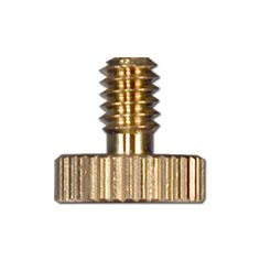 Brass Thumb Binder Screw 1/2 Long x 8/32
