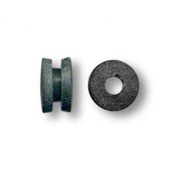 Doughnut Black Needle Bar Grommets (50)