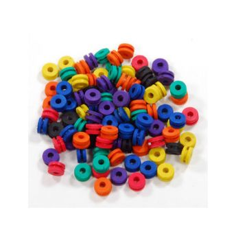 Doughnut Multi Colour Grommets (50)
