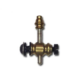 Tapered Brass Front Post - Metric Thread