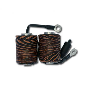 Coil 10 Wrap Dark/Light Brown