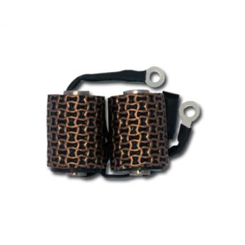 Coil 10 Wrap Black & Gold