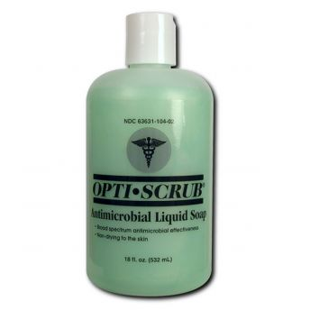 Opti-Scrub Antimicrobial Soap 18oz Pump Bottle
