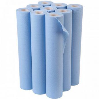 Couch Roll BLUE Bulk 9 pack 48cmx46m