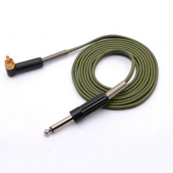 Eikon Green 6 foot RCA Angled Cord