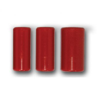 Red Knurled 13mm Grip Cover