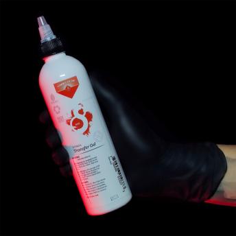 S8 RED Stencil Transfer Gel 8oz bottle