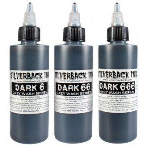 Silverback Dark 6-666 Greywash SET 3 x 4oz