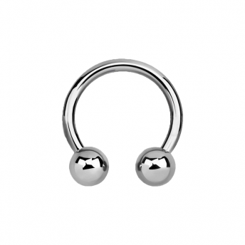 Stainless Circular Barbells 1.6mm - Plain