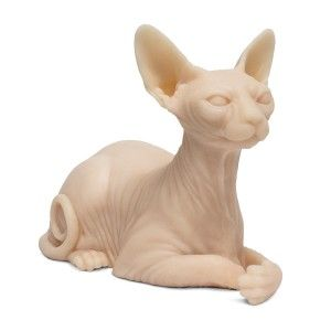 SILICONE SPHYNX CAT