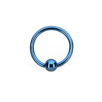 Titanium BCR 1.6mm - Blue