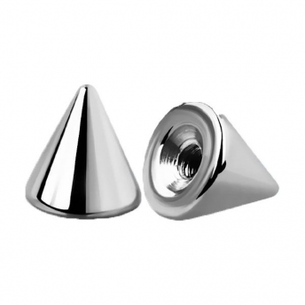 Titanium Polished Cone 1.6mm