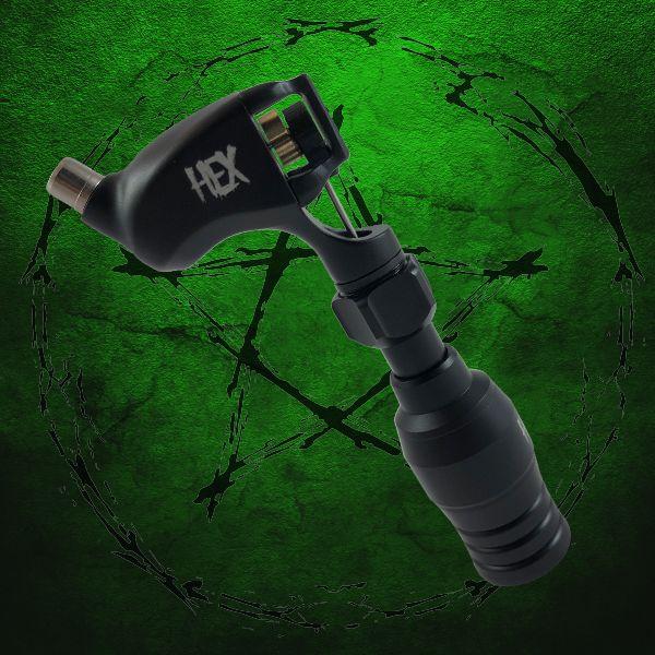 Hex Rotary Machine Metallic Black